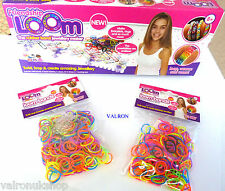 FRIENDSHIP LOOM RUBBER BAND BRACELETS MAKER FULL KIT AND / OR ADDITIONAL BANDS