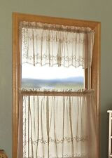 Heritage Lace SHEER DIVINE Panels, Tiers, Swags, Valances, Shades  3 colors