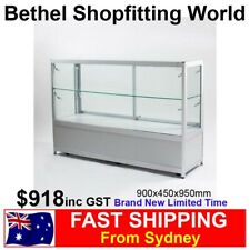 Glass Display Counter With Storage Cabinet For Jewellery Hobby Shop Brand New!