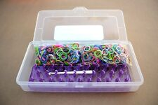 SMALL KIT, COMES WITH 1200 MIX COLORED RUBBER BANDS Creastic Bracelet formerl!