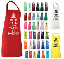 Keep Calm And Carry a hornear Delantal actual retr0 Cumpleaños Regalo gbbo Hornear Off