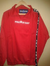 PRO STAR PALERMO TRAINING DRILL TOP RED ADULT MEDIUM BNWT
