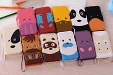 New Animal PU Leather Flip Case Cover Stand for Samsung Galaxy S3 III Mini I8190