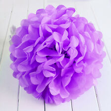 10'' Wedding Party Home Birthday Tissue Paper Pom Poms Flower Balls Décor