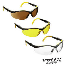 voltX CONSTRUCTOR Bifocal Cycling Reading Safety Glasses + clamshell case & cord