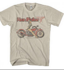VAN HALEN BIKER PIN UP GIRL T-SHIRT NEW !