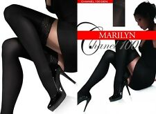 "LADIES HOLD UPS Opaque Microfibre100 Den Marilyn""CHANEL100"""