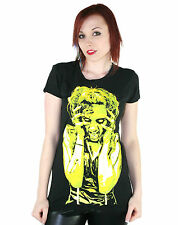 TOO FAST LADIES BABY DOLL DEAD INK T SHIRT (B3C)