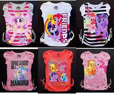 MY LITTLE PONY Fashion Cotton Tops Tees T-Shirt NEW Girls Size 4, 5, 6 or 6X $18