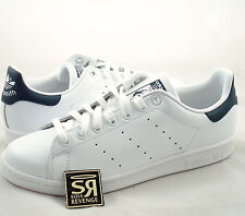 New adidas Originals Mens Stan Smith Shoes Running White/New Navy M20325 Tennis