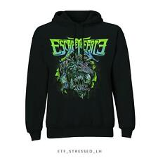 ESCAPE THE FATE Official Uni-Sex Pull Over Hooded Top Various Sizes STRESSED