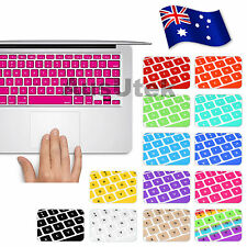 "Silicone Keyboard Cover Skin For MacBook Pro 13.3"" 15.4"" 17"" AIR 11"" 13"" Apple"
