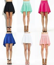 BIRTHDAY Party Sexy Trendy Dating Office Work Casual High-Low Skater Skirt S/M/L