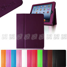 Fintie iPad 4 Retina Display Smart Cover Magnetic Leather Case Stand Wake/Sleep