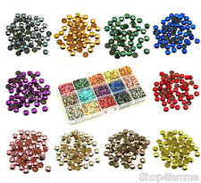 Mixed Box Sets of Hot Fix Iron On Metal Studs in Varies Sizes (4mm / 5mm / 6mm)