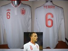 England JOHN TERRY BNWT L/S Adult M-XXL Chelsea Football Soccer Shirt Jersey Top