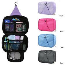 Luxury Wash Bag Toiletry Toiletries Travel Make Up Mens Ladies Hanging Folding