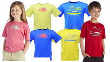 Regatta Starcrest Boys/Girls Breathable Wicking Outdoors T-Shirt Hiking/Sports
