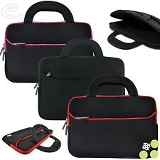 "Soft Neoprene Sleeve Case Cover Bag w/ Handle for 15.6"" Inch Laptops Notebooks"
