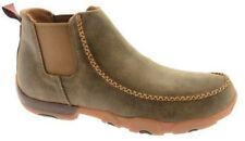 Twisted X Men's NEW MDMG002 Brown Bomber Leather Driving Mocs Boots Shoes SIZES
