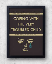 """Moonrise Kingdom Poster - """"Coping With The Very Troubled Child"""" wes anderson"""
