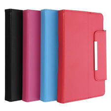 "Universel 7"" 8"" 10.1""Pouce Cuir PU Support Tablette Housse Etui Cover Pr Samsung"