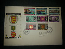 Guernsey FDC's: 1968 - 1979 great quality & variety - priced to sell