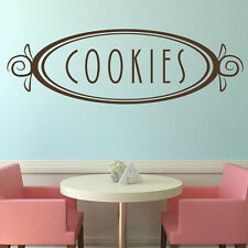 Cookies Wall Sticker Badge Sticker Art