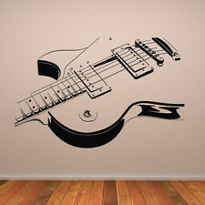 Electric Guitar Wall Stickers Music Wall Decal Art