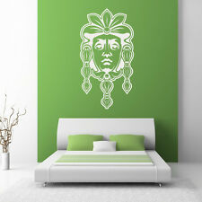 Traditional Mask Around the World Wall Decal Art Sticker Wall Decal