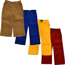 Polo Ralph Lauren Boys Corduroy Pants Chino Toddler Kids New 2T 3T 4T 5 6 7 V015