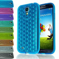 BUBBLE TPU GEL TRANSPARENT CLEAR SOFT CASE BACK COVER LTE FOR GALAXY S4 SIV 9500