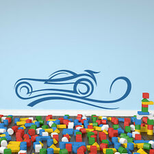 Cartoon Car Wall Sticker Children's Wall Decal Art