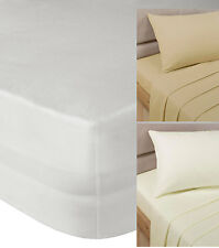"""Fitted Sheet 16"""" Depth Single Double King Size or Super King Size"""