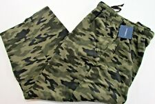 PJ Pants Mens Fleece Size 3x 4x LT XLT 2XLT 3XLT Pajamas Croft & Barrow NWT