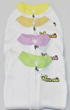 New Woombie Baby Swaddler Swaddle Newborn 5 - 13 Lbs. KB Design  Summer Style