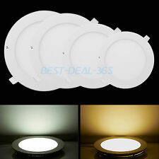 Bright Dimmable Led Recessed Downlight Ceiling Panel Light Flat Room Wall Lamp