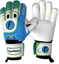 Foxon Junior / Kids Goalkeeper Roll Finger Save Gloves Elite Pro Size 4 5 6 7