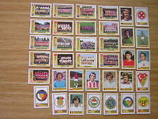 Panini - Euro Football 1977 Sticker Cards  -Select From Below