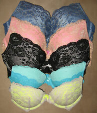 Victoria's Secret -- Dream Angels Push-Up Bra with Lace -- NEW