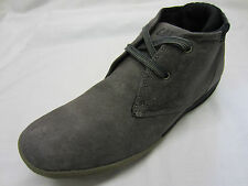 Caterpillar 'Crump Mid' Mens Grey Suede Leather Boots