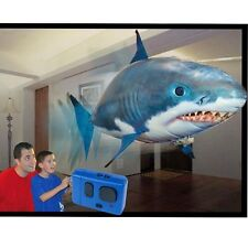 1x Remote Control RC Flying Fish Inflatable Air Swimmer Blimp Balloon Fun Toy 6L