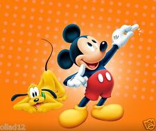 TRANSFERT TEXTILE MICKEY MOUSE MINNIE PLUTO DONALD  - 3 TAILLES A6/A5/A4