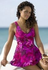 5209   PLUS 1 Pc Pink Floral Swimsuit Assorted Sizes Available
