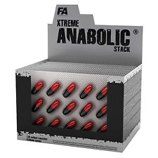 Anabolic Stack 15-270 Caps. Pro Muscle Growth Testosterone Enhancer DAA Vitamins