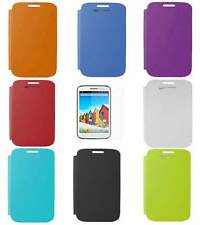 Flip Cover Case for Micromax A116 Canvas HD  with Screen Guard