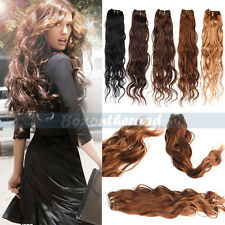 """12-26"""" Natural Body Wave Weaving Remy Brazilian Human Hair Extensions Weft 50g"""