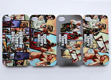 GRAND THEFT AUTO 5 V GTA5 xbox ps3 game Pattern Hard Case Cover For iPhone 4 4s