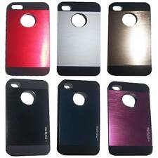 Metalic Motomo Hard Back Cover Case for Apple iPhone 4 /  4S