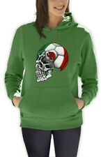 Mexico Flag Copa America 2015 Skull Women Hoodie soccer football national team